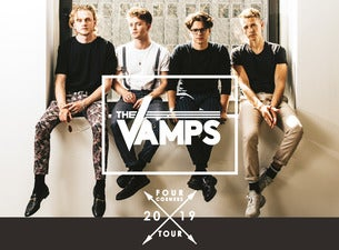 The Vamps: Four Corners Tour Arena Birmingham Seating Plan