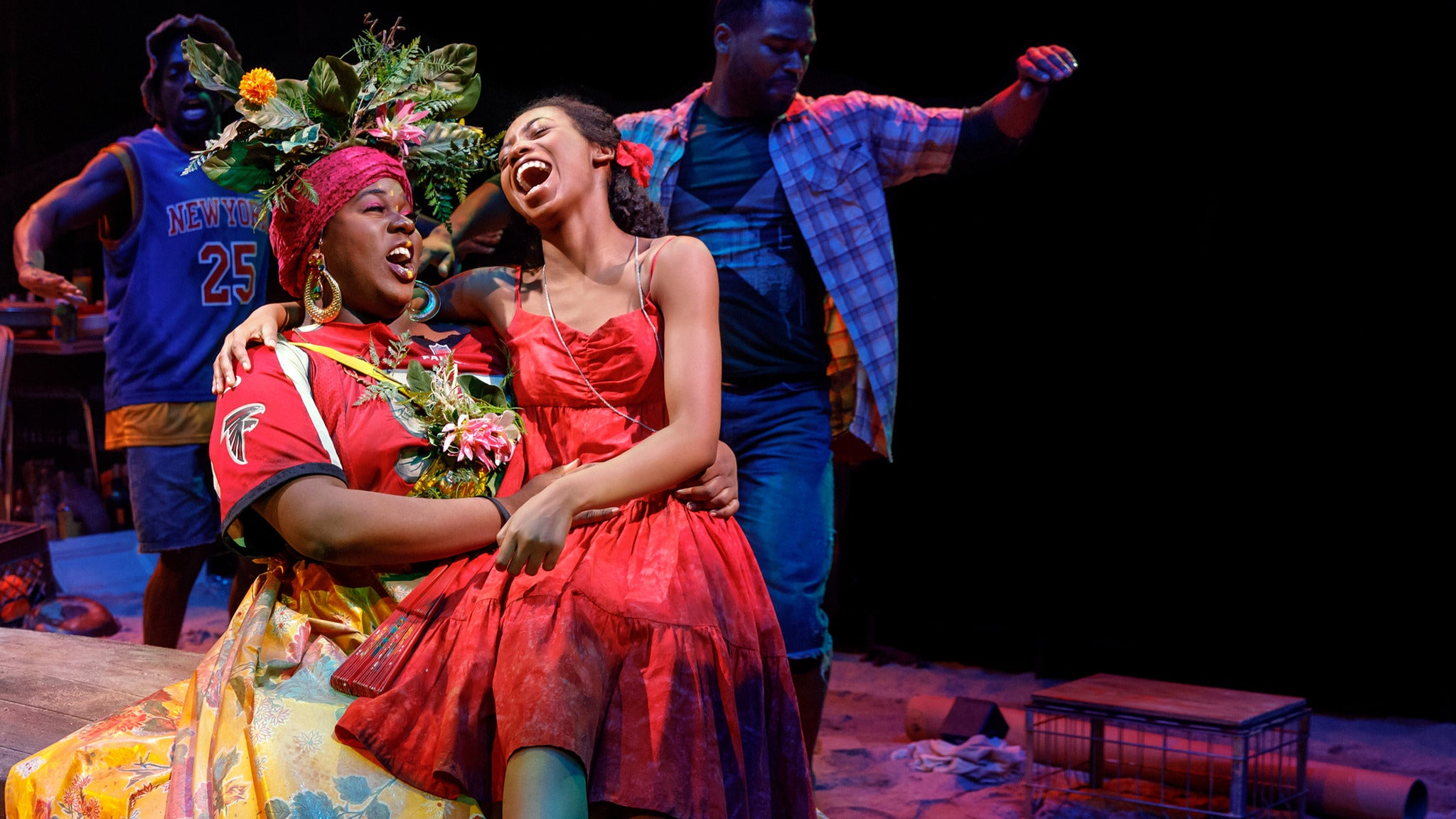 Once On This Island at Three Stages at Folsom Lake College