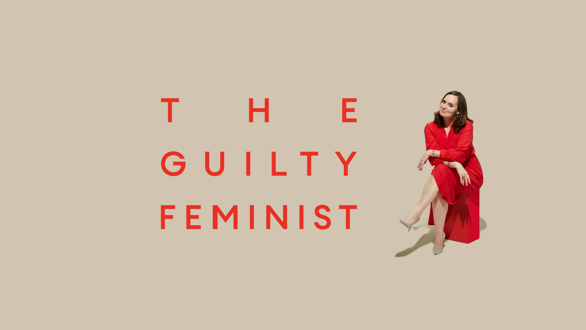 The Guilty Feminist: Live with Deborah Frances-White Event Title Pic