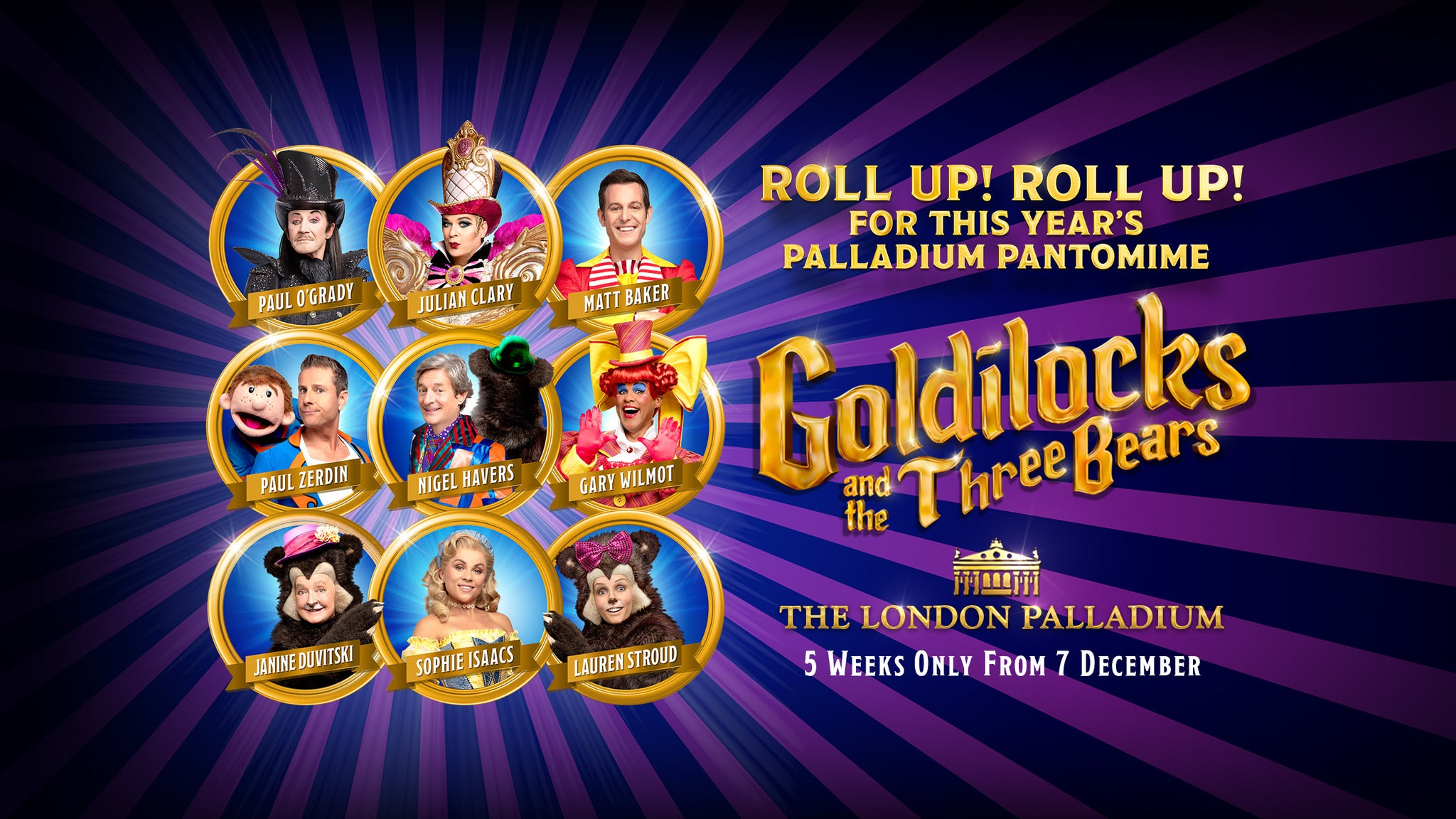 Goldilocks and the Three Bears tickets (Copyright © Ticketmaster)