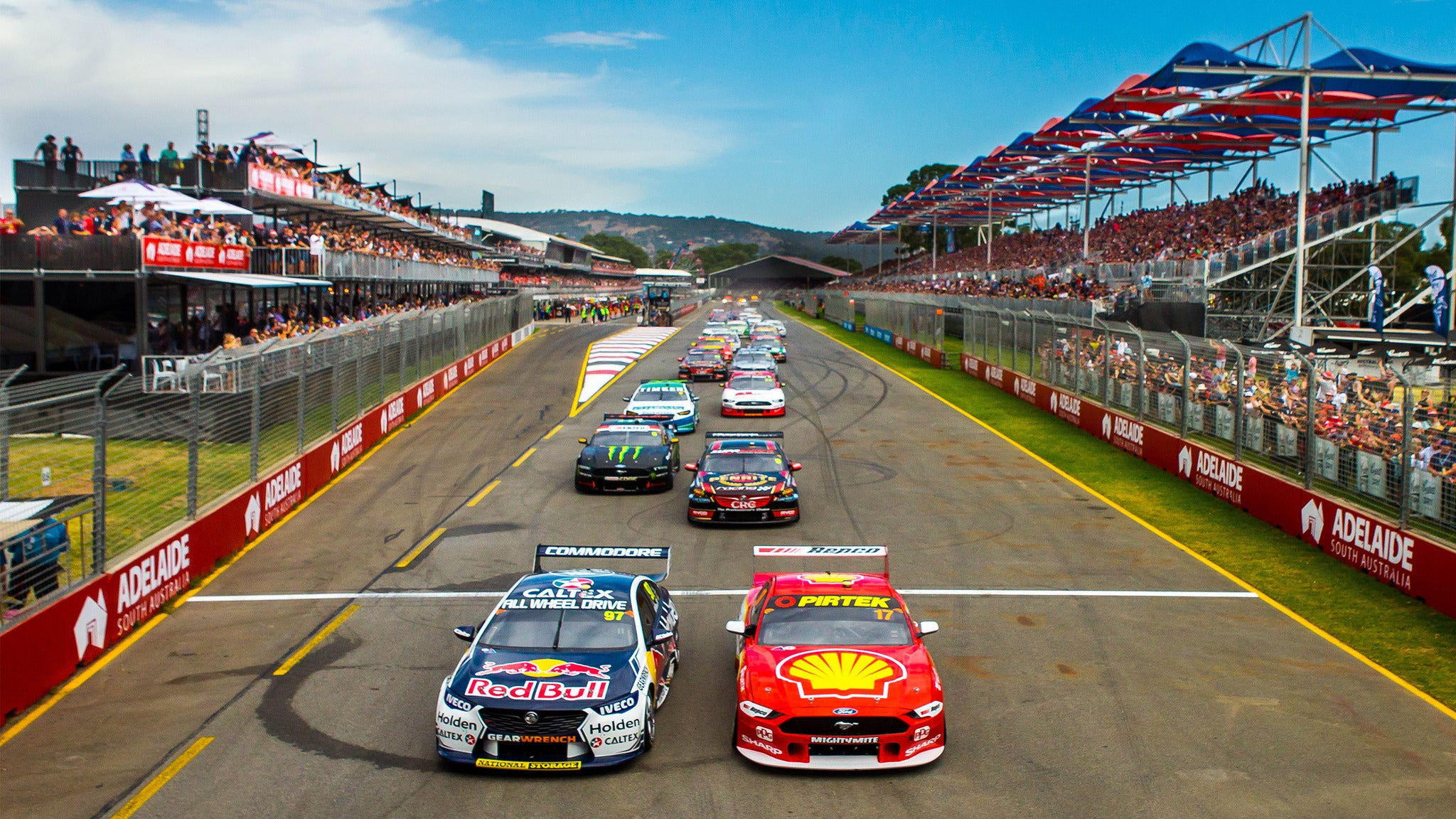 Adelaide 500 - Hairpin Grandstand - Sunday