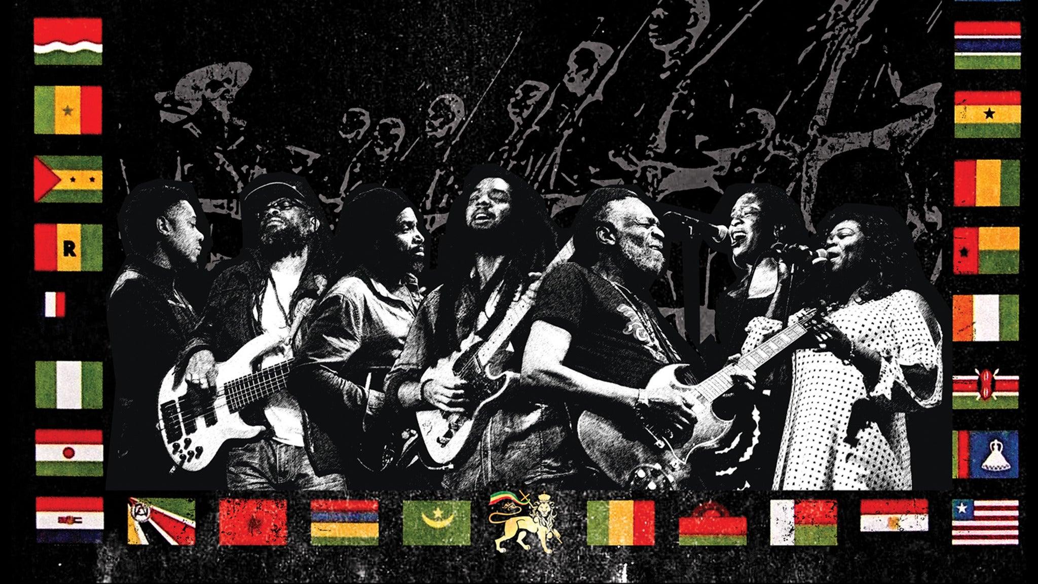 The Wailers 40th Anniversary of Survival at Saint Rocke