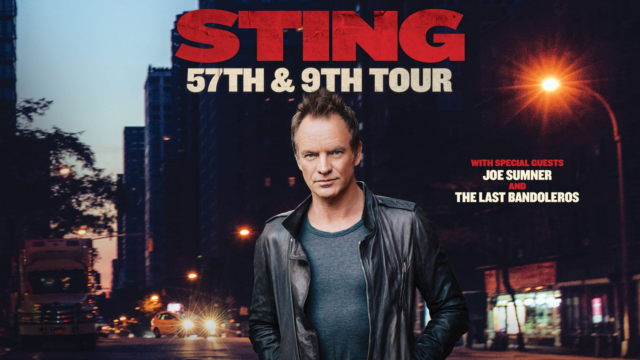 Sting 57th & 9th Tour at The Masonic