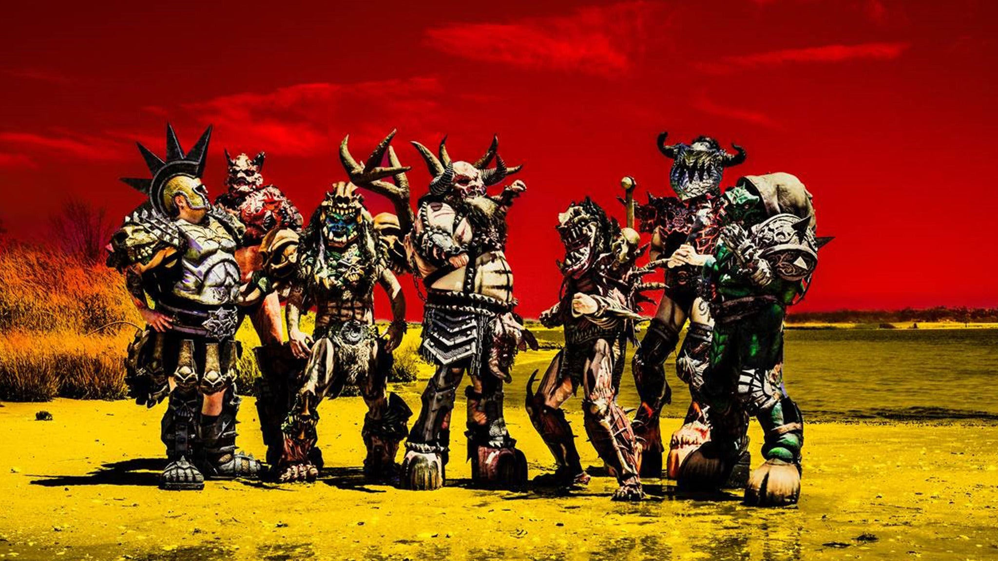 GWAR Use Your Collusion Tour at Garden Grove Amphitheater