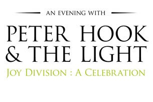 An Evening with Peter Hook and the Light