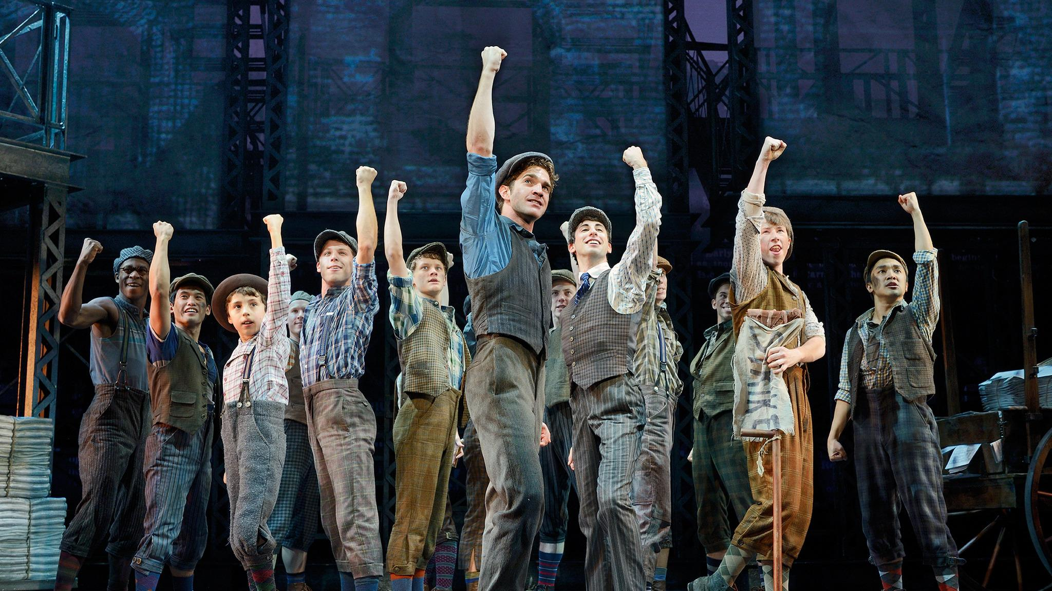Newsies at Toby's Dinner Theatre