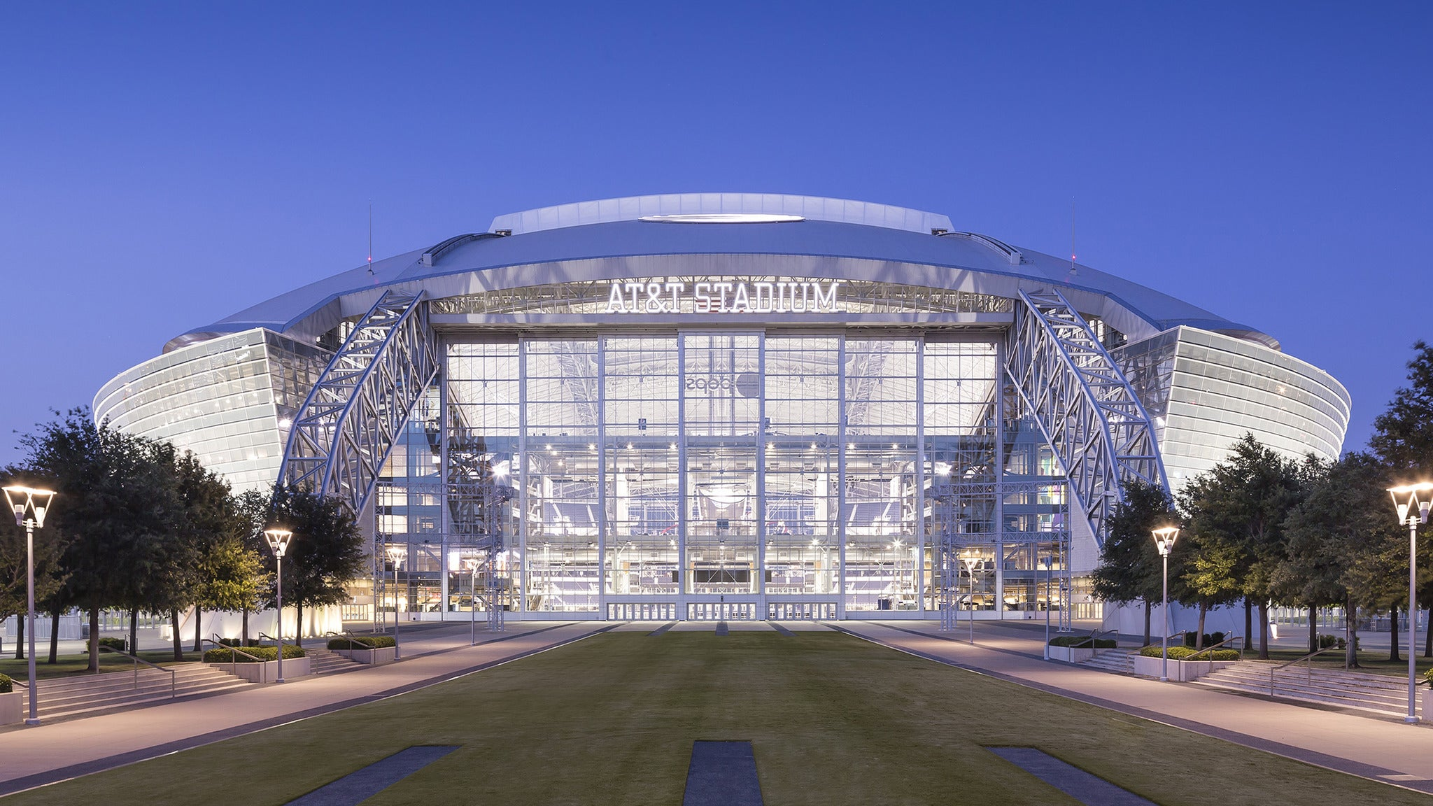 Tour of AT&T Stadium Art