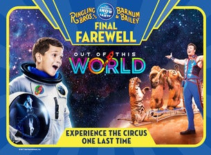 Ringling Bros. and Barnum and Bailey Presents Out of This World | Baltimore, MD | Royal Farms Arena (formerly Baltimore Arena) | April 21, 2017