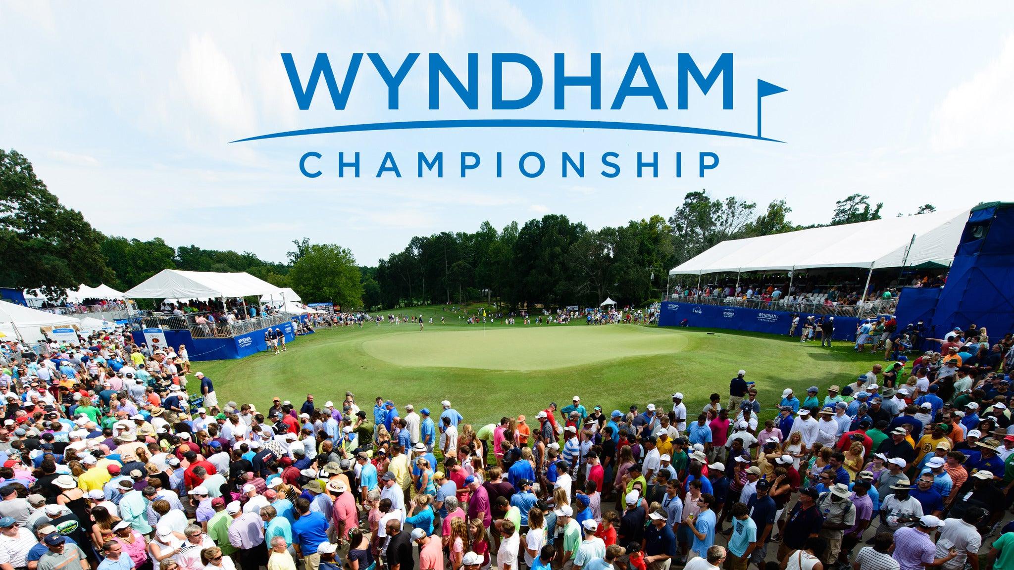 Wyndham Championship: Tuesday Admission