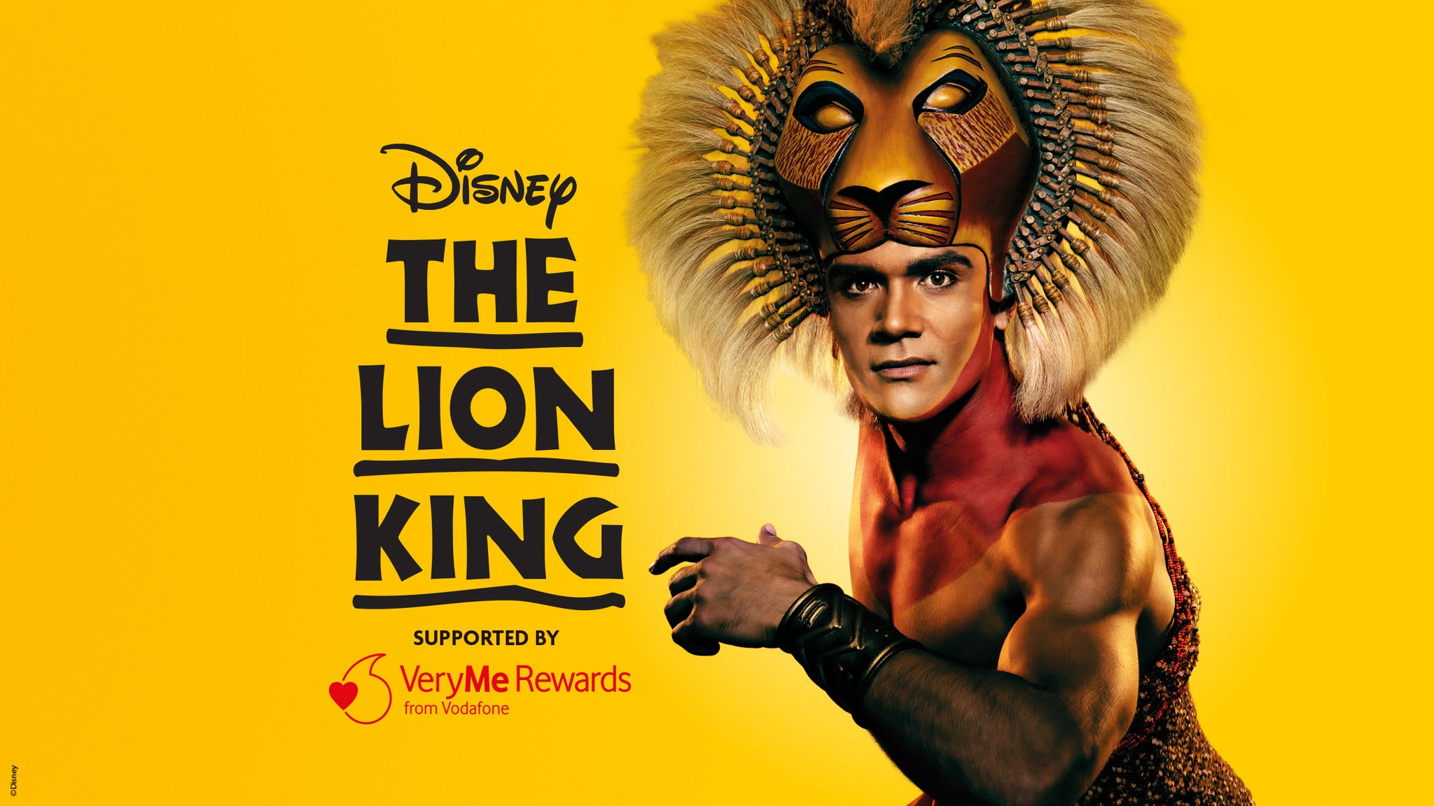 Disney's The Lion King - UK Tour Event Title Pic