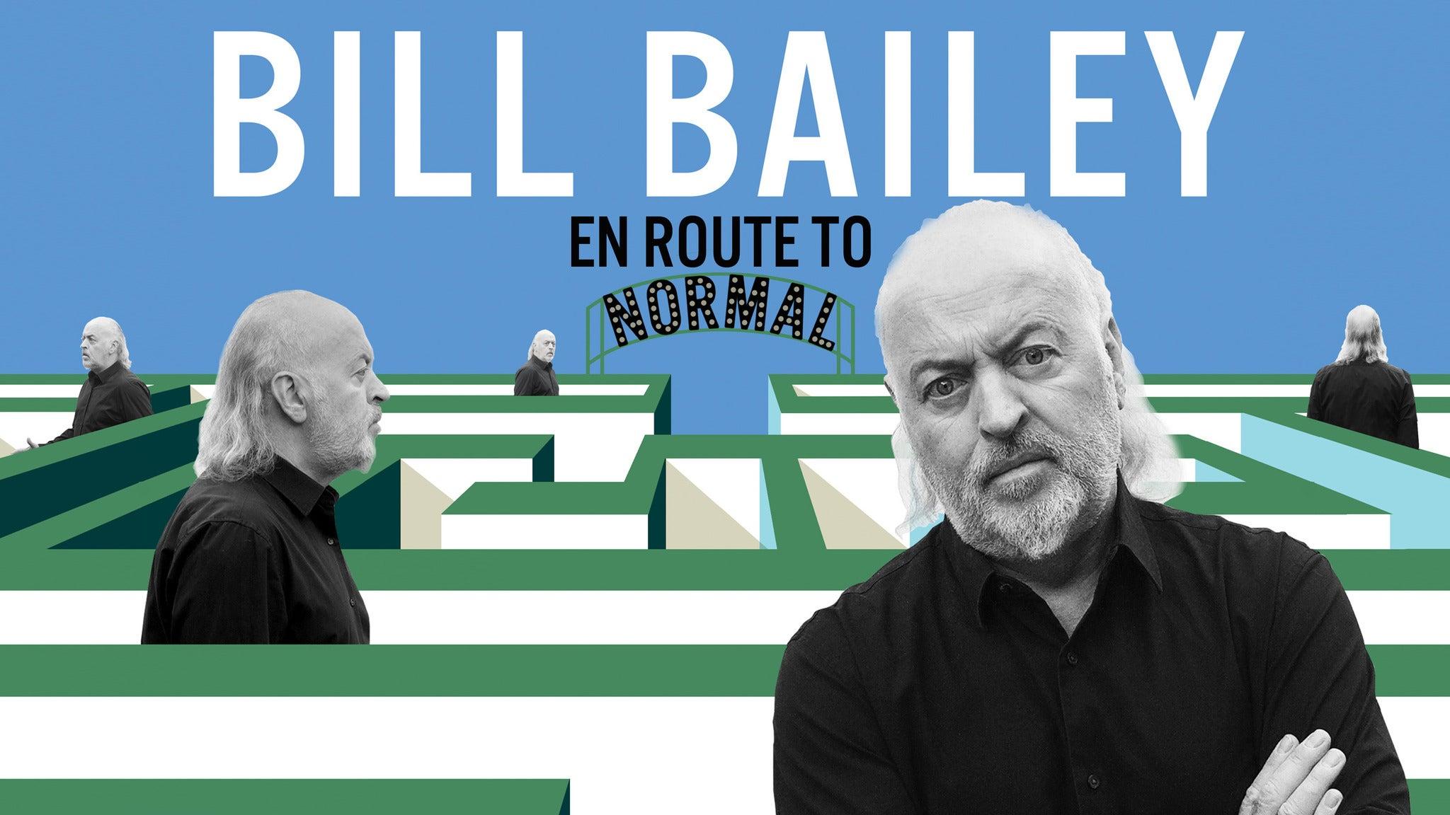 Bill Bailey: En Route To Normal tickets (Copyright © Ticketmaster)