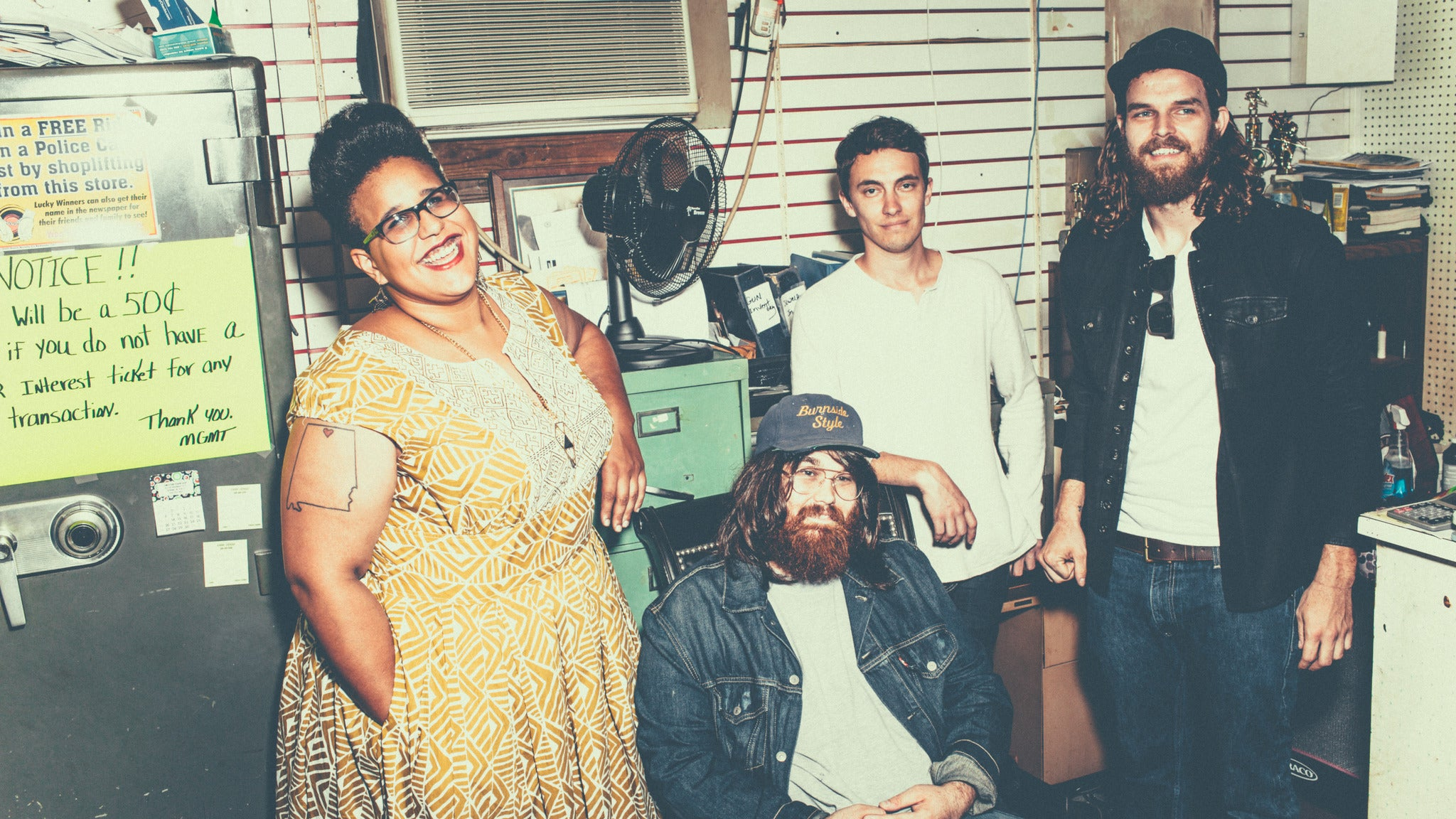 Alabama Shakes at Shreveport Municipal Memorial Auditorium