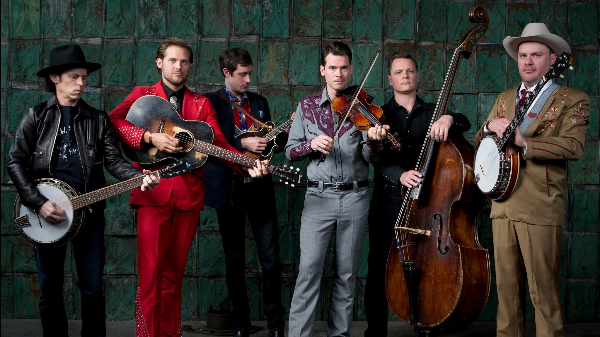 Old Crow Medicine Show at Clinton Presidential Park