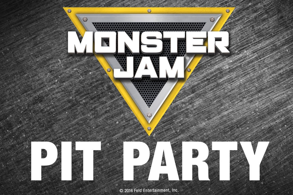 Monster Jam Pit Pass: Preshow Pit Party From 2:30PM to 5:30PM