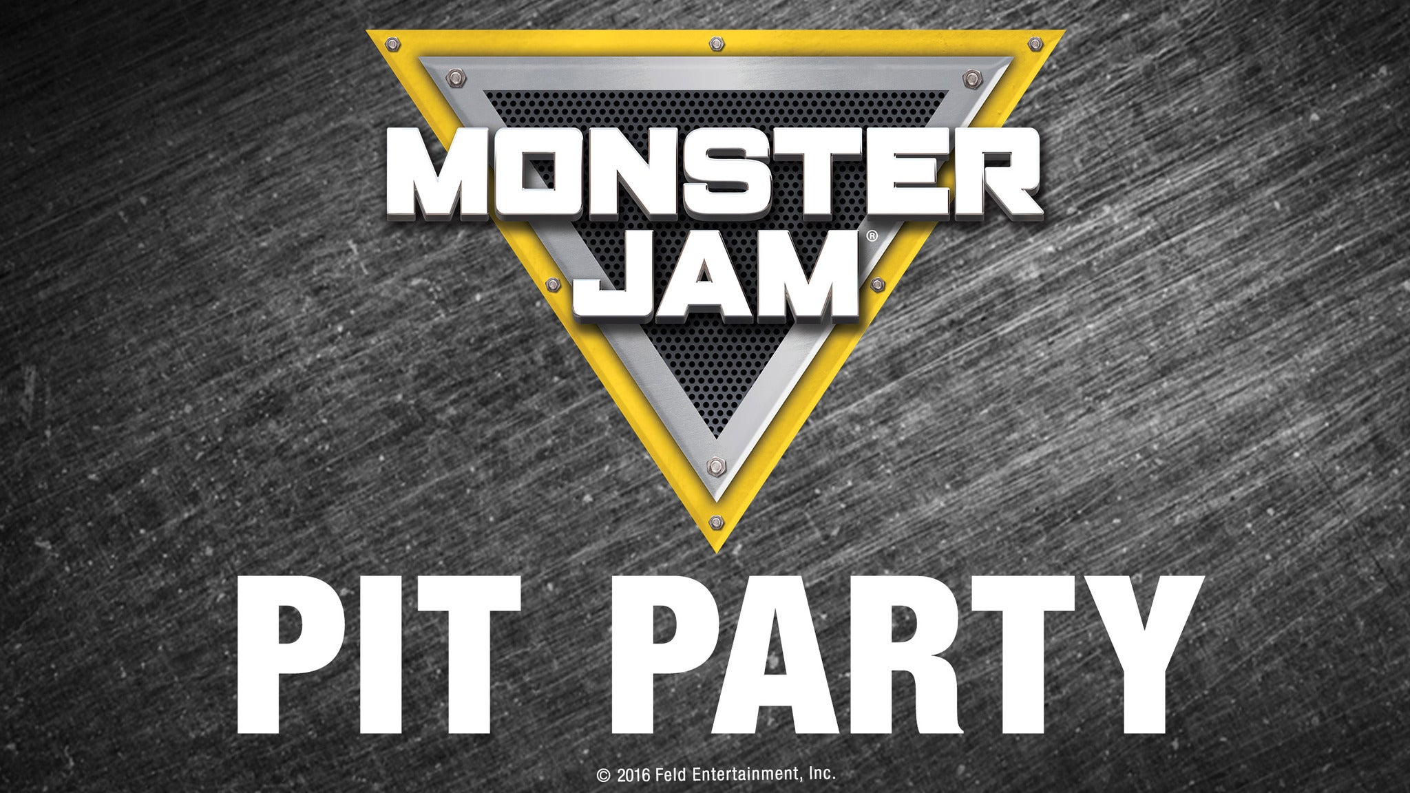 Monster Jam Pit Pass: Preshow Pit Party From 4pm To 5:45pm