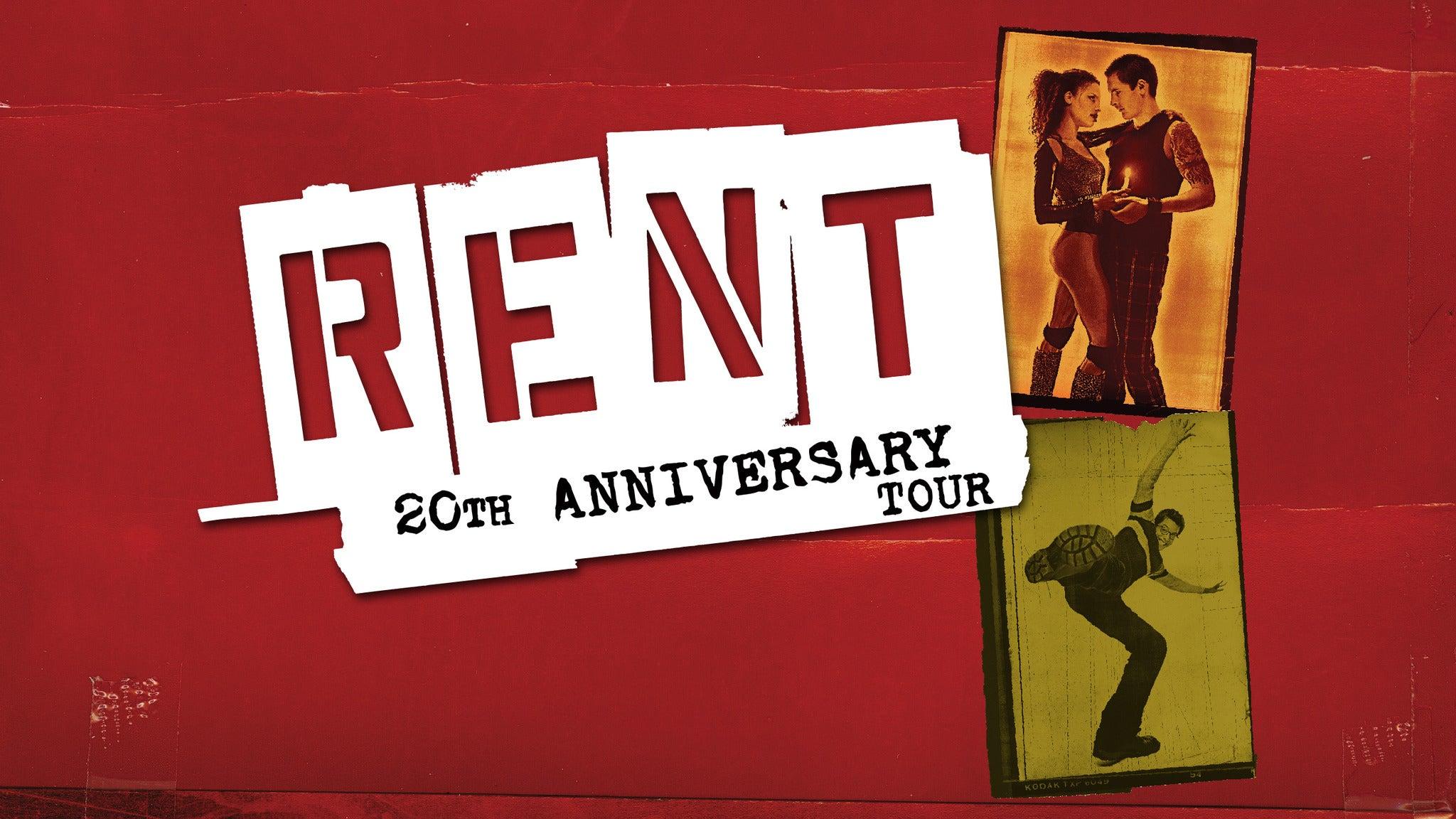 Rent (Chicago) at Oriental Theatre Chicago