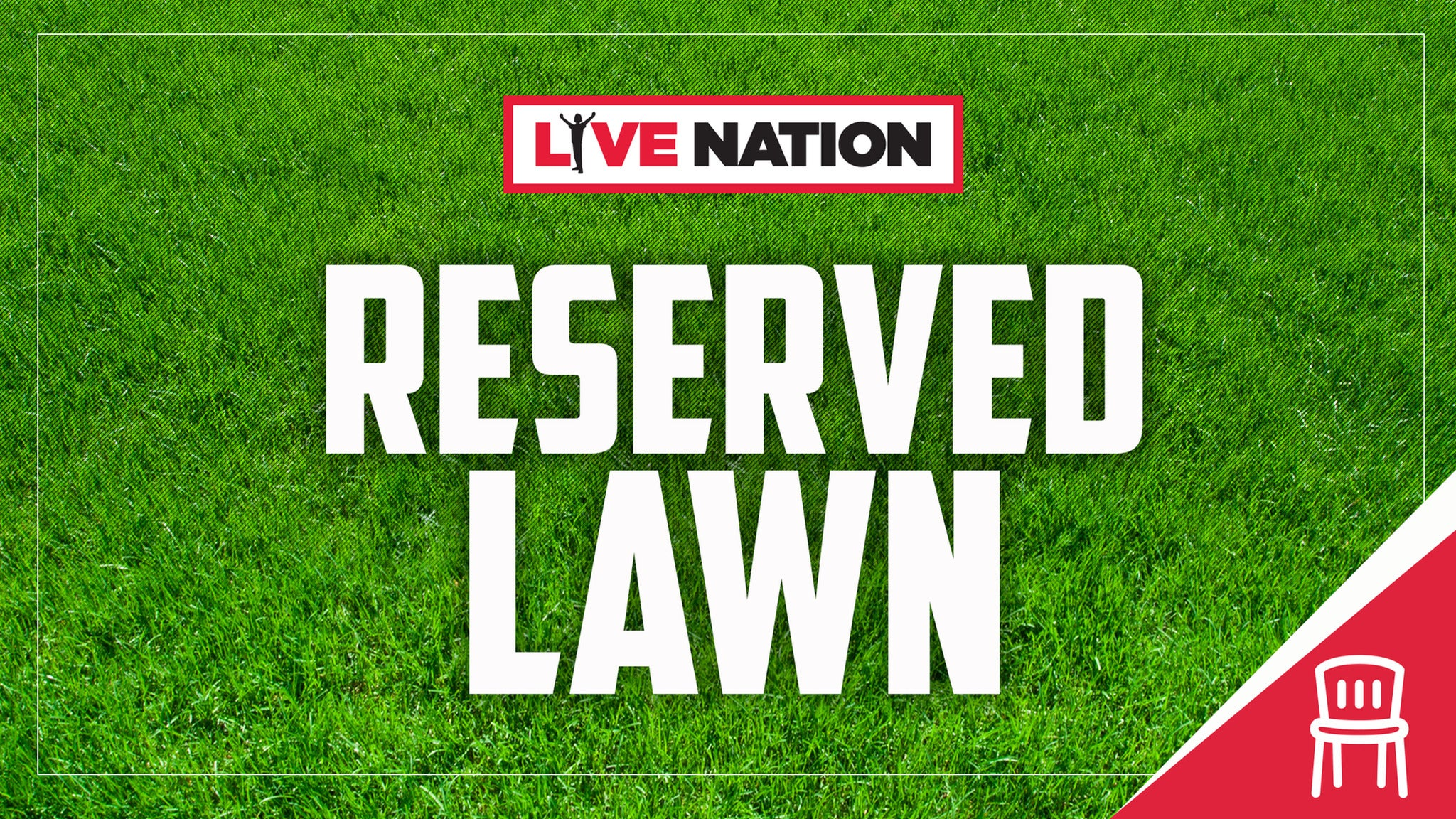 Reserved Lawn Upgrade: Paramore - NOT a Concert Ticket