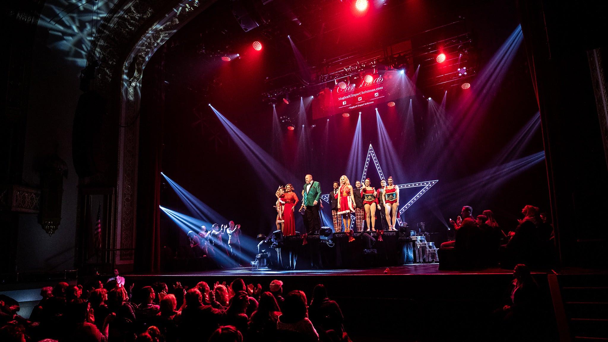 A Magical Cirque Christmas at Mayo Performing Arts Center