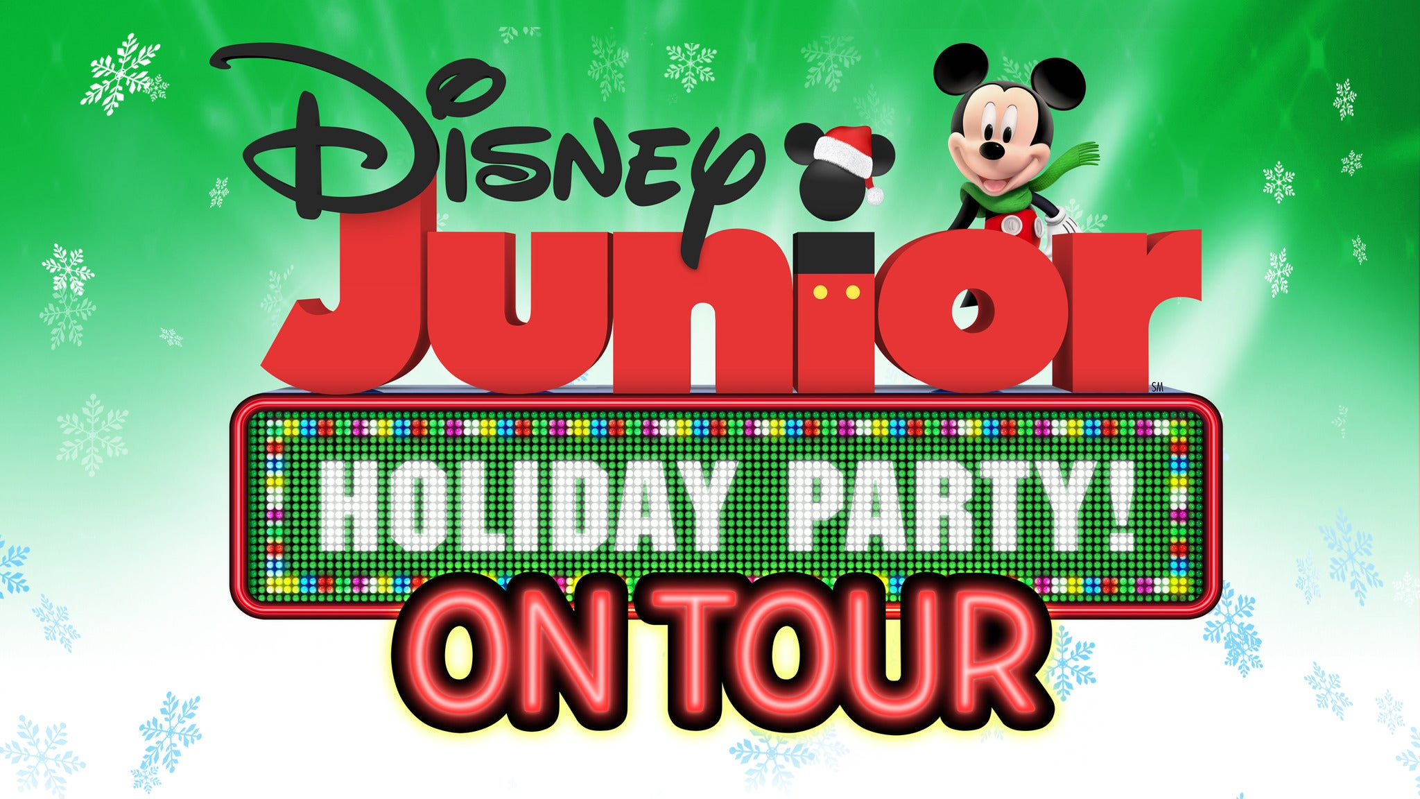 Disney Junior Holiday Party at Robinson Performance Hall