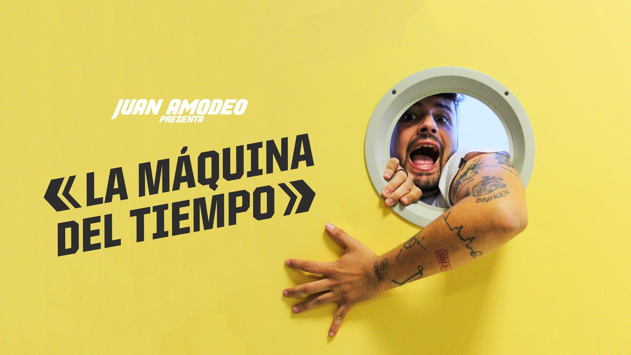 Juan Amodeo - La máquina del tiempo