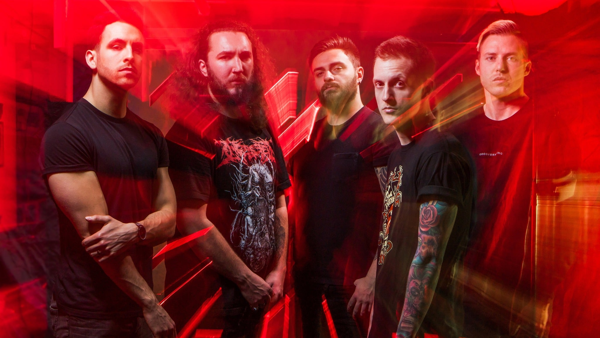 I Prevail - the Trauma Tour Event Title Pic