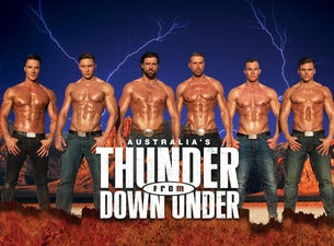 Australia's Thunder From Down Under: Desert Dreams 2018 World Tour