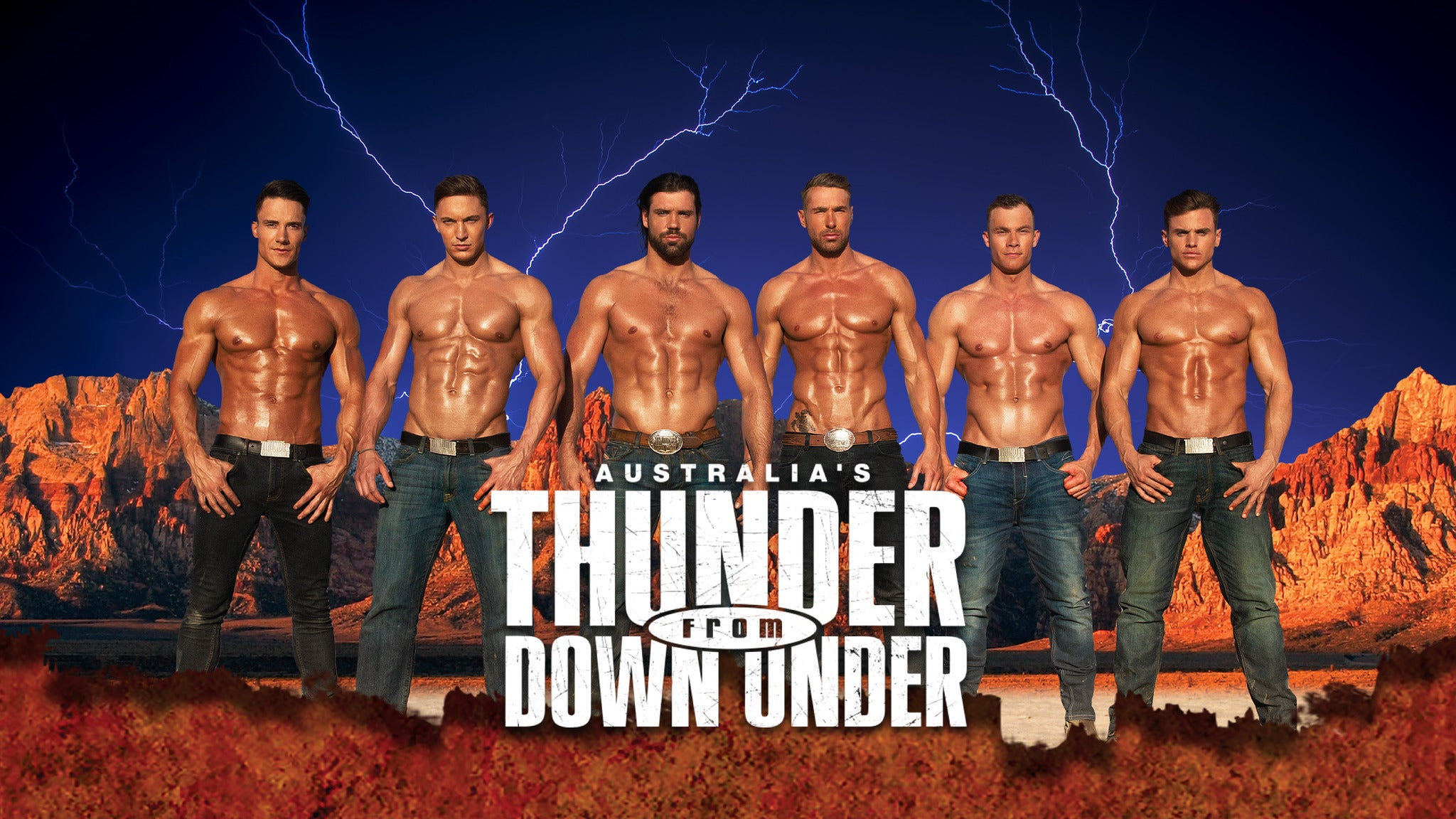 Thunder From Down Under at Victory Theatre