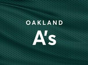 Oakland Athletics vs. Houston Astros