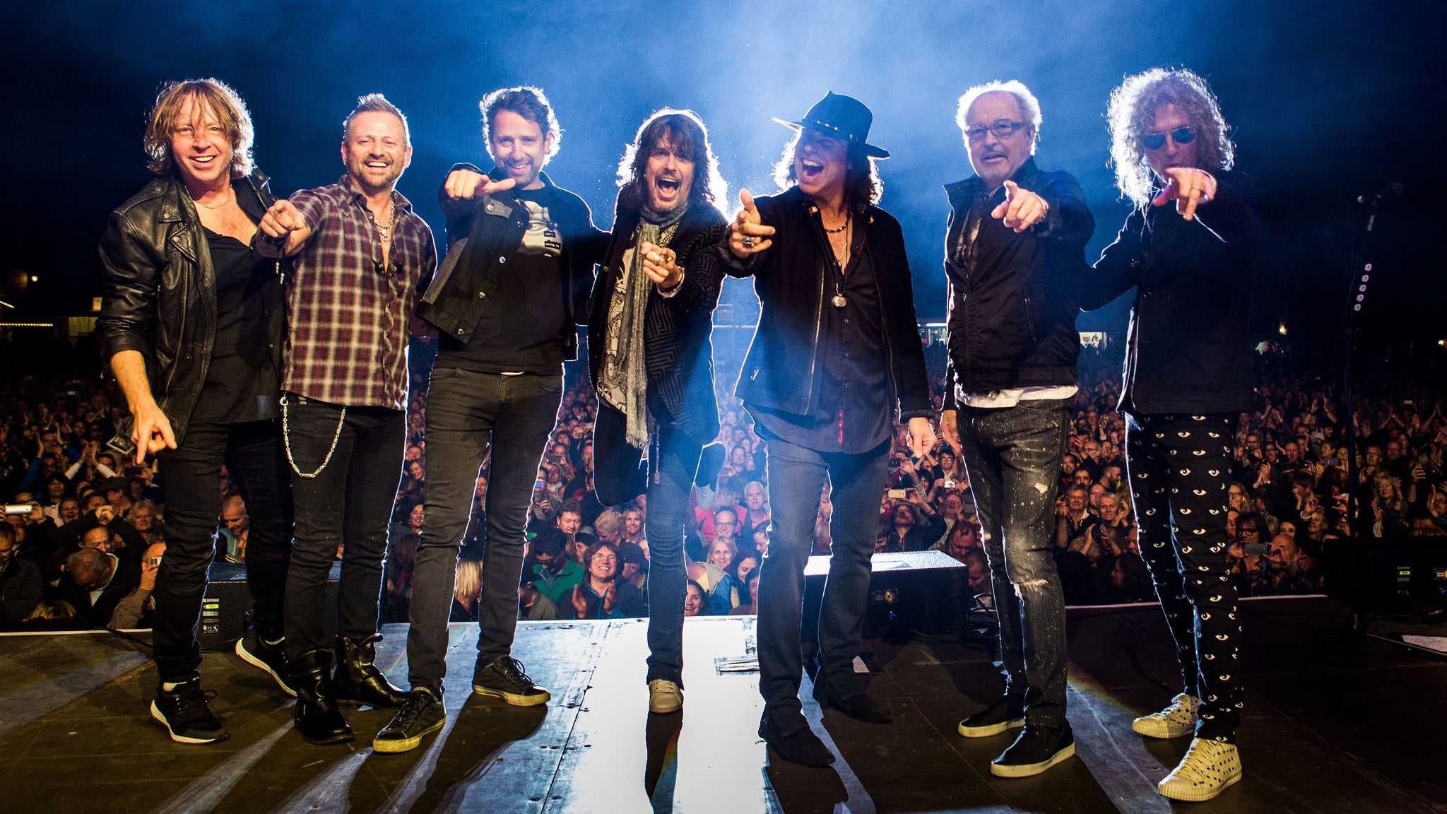 Foreigner: Juke Box Hero Tour 2020 at Shoreline Amphitheatre
