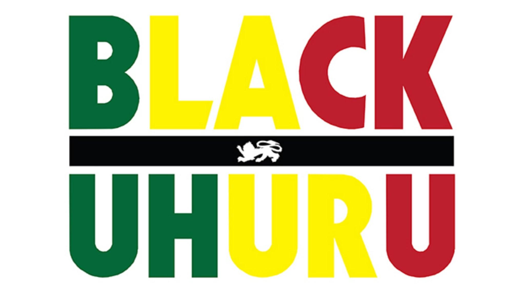 Black Uhuru at District 3
