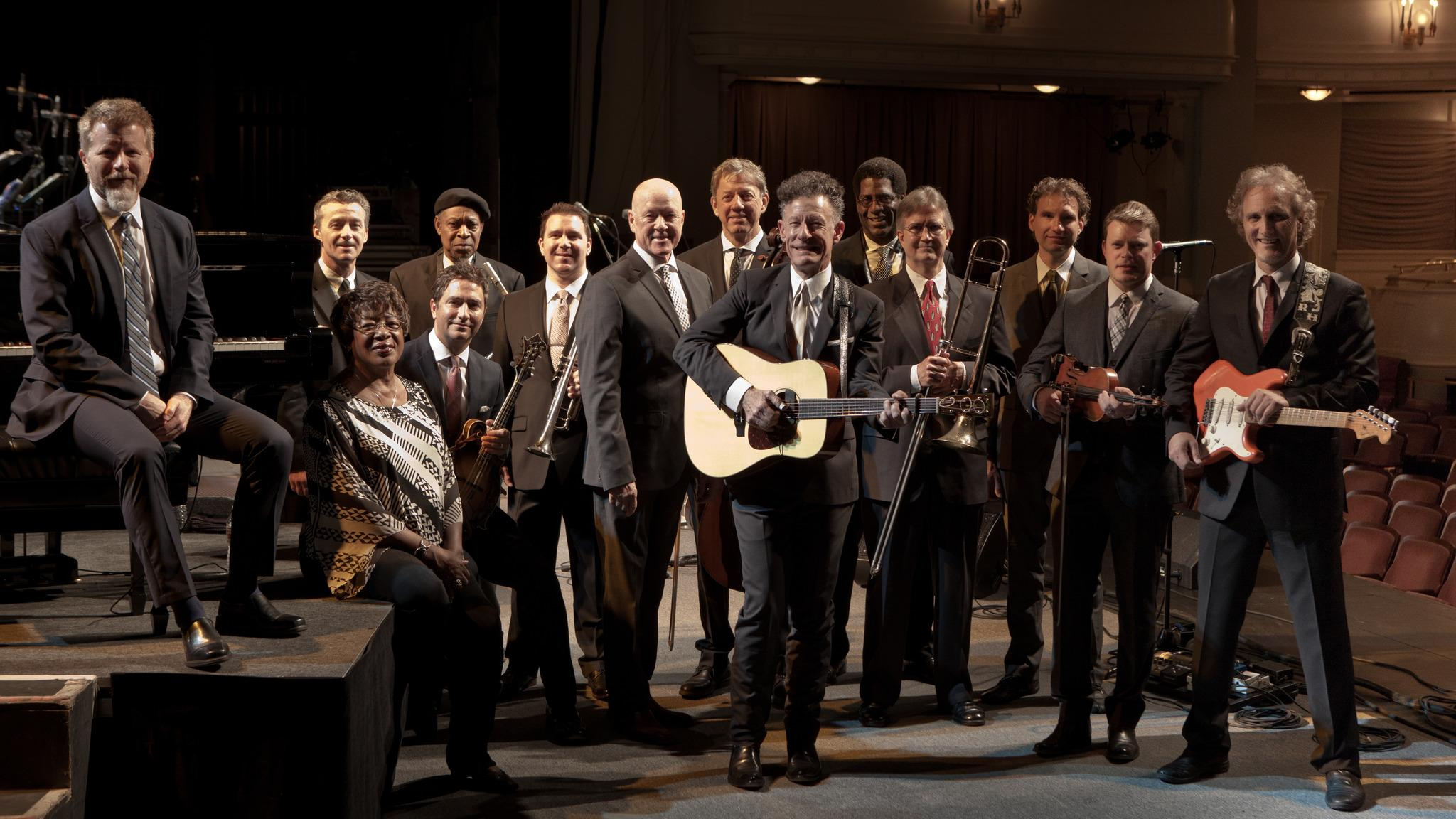 Lyle Lovett & His Large Band & Emmylou Harris