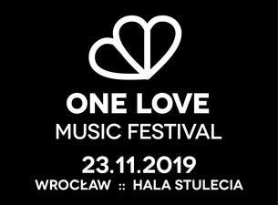 One Love Music Festival, 2019-11-23, Wroclaw