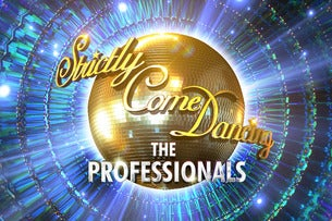 Strictly Come Dancing the Professionals FlyDSA Arena (Sheffield Arena) Seating Plan