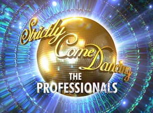 Strictly Come Dancing the Professionals Tour 2019 Seating Plans