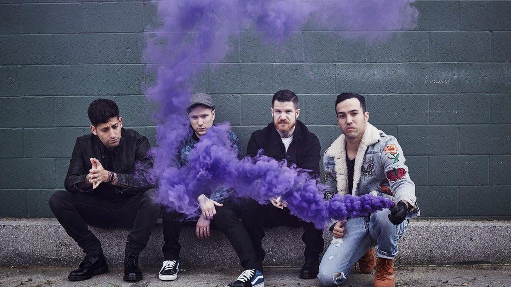 Fall Out Boy: The M A  N   I    A Tour