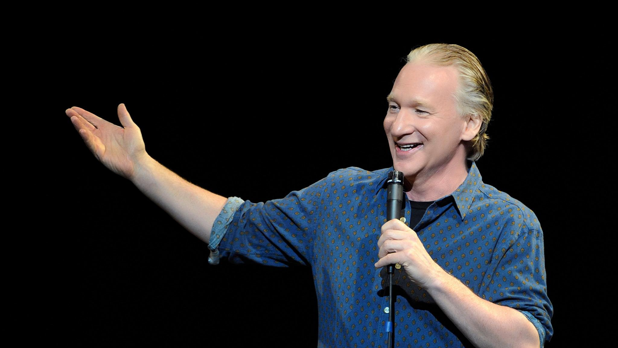 Bill Maher at Flint Center