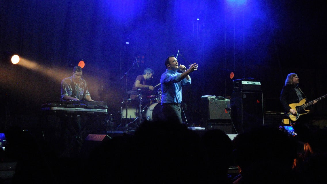 Future Islands + FR/BLCK/PR at Varsity Theatre