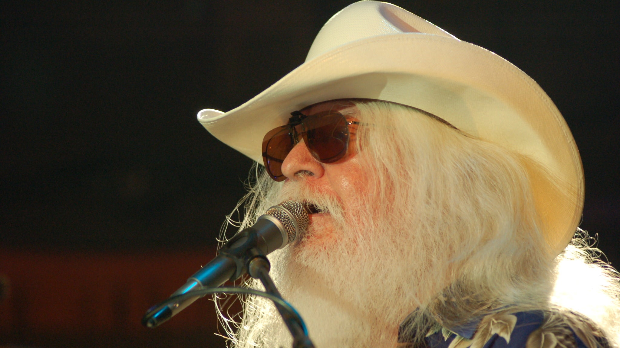 Leon Russell at Amaturo Theater at Broward Center - Ft Lauderdale, FL 33312