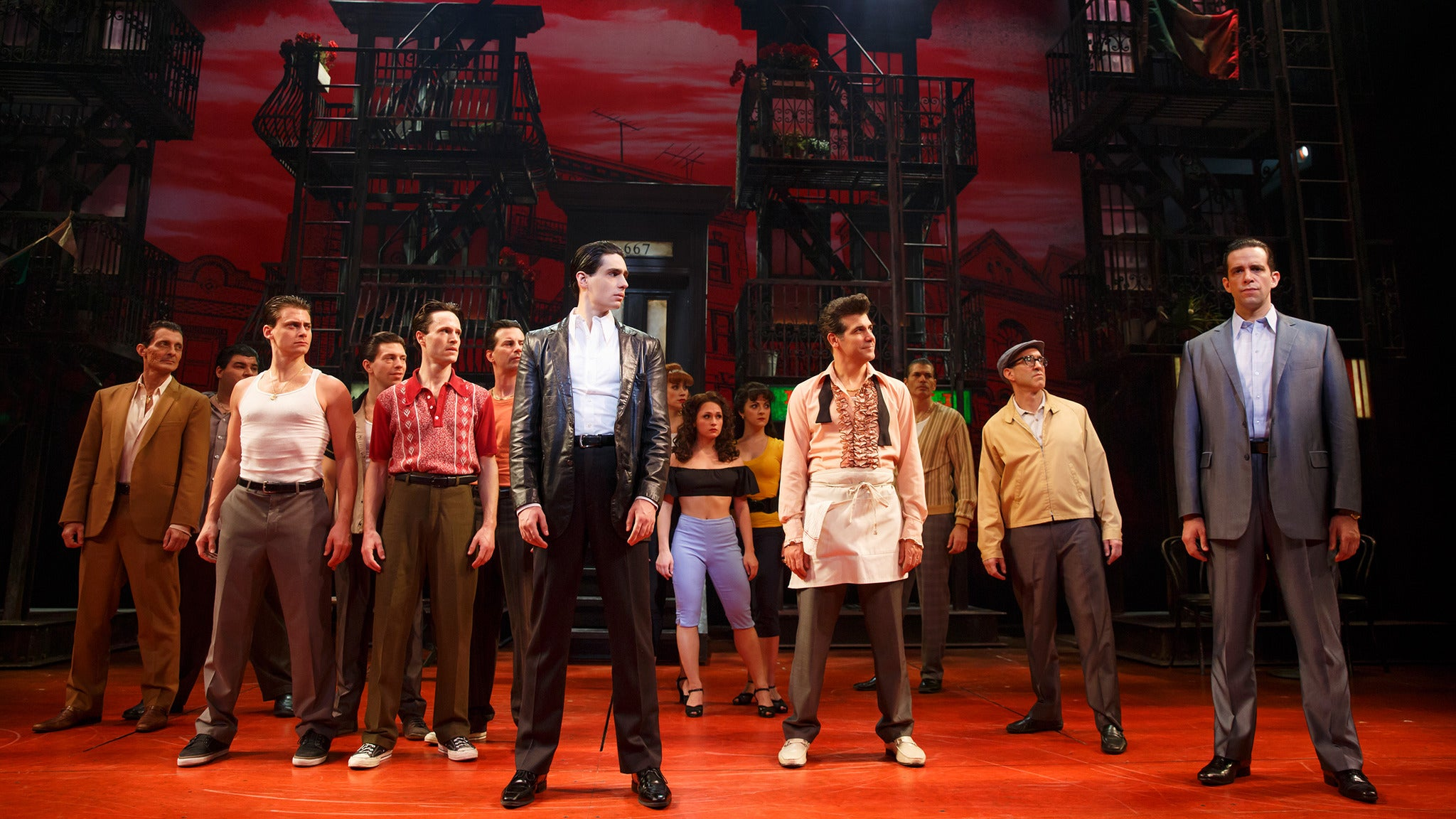 A Bronx Tale at Palace Theatre Waterbury-CT