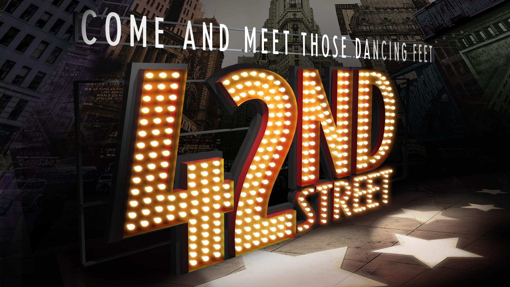 42nd Street at Pollak Theatre at Monmouth University - West Long Branch, NJ 07764