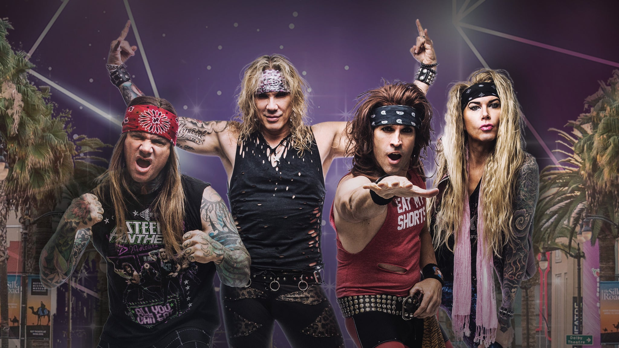 Bayou 95.7 Presents: Steel Panther 80's Summer Bash