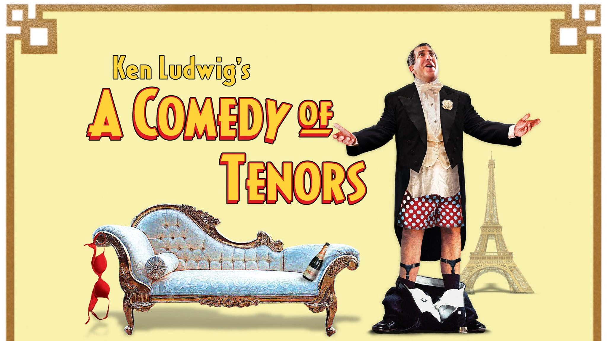 Walnut Street Theatre's A Comedy of Tenors - Philadelphia, PA 19107