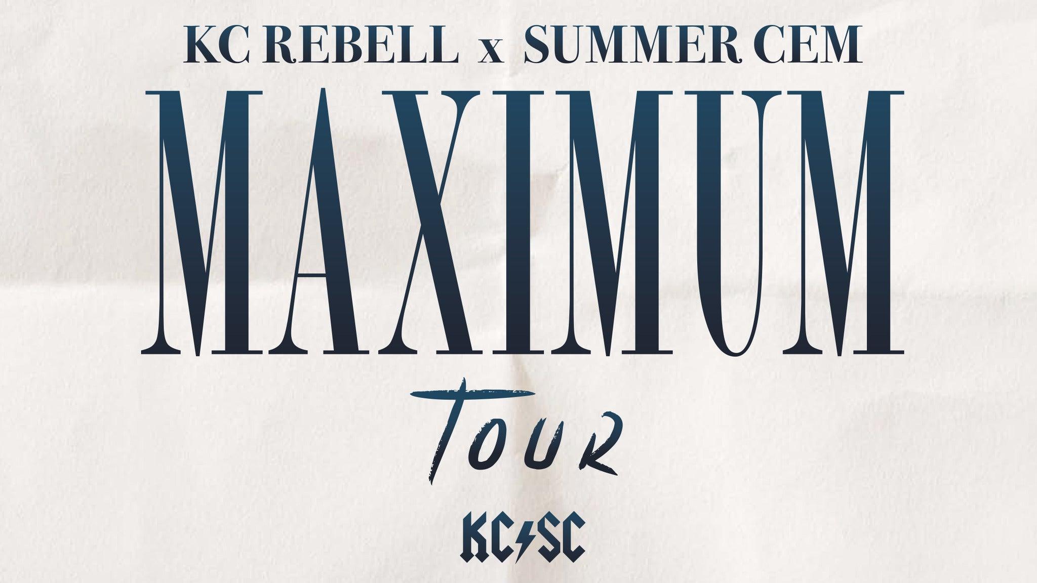 KC Rebell & Summer Cem