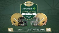 Aer Lingus College Football Classic - Navy v Notre Dame Seating Plans