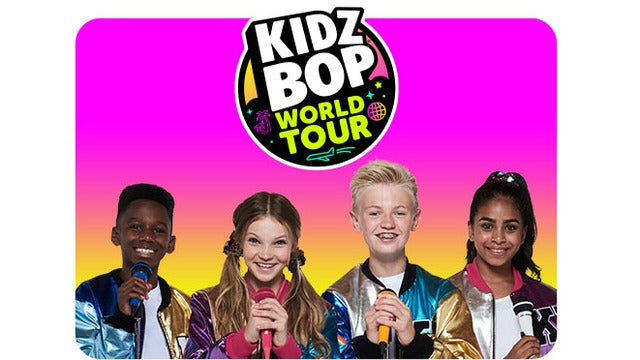 KIDZ BOP World Tour tickets (Copyright © Ticketmaster)