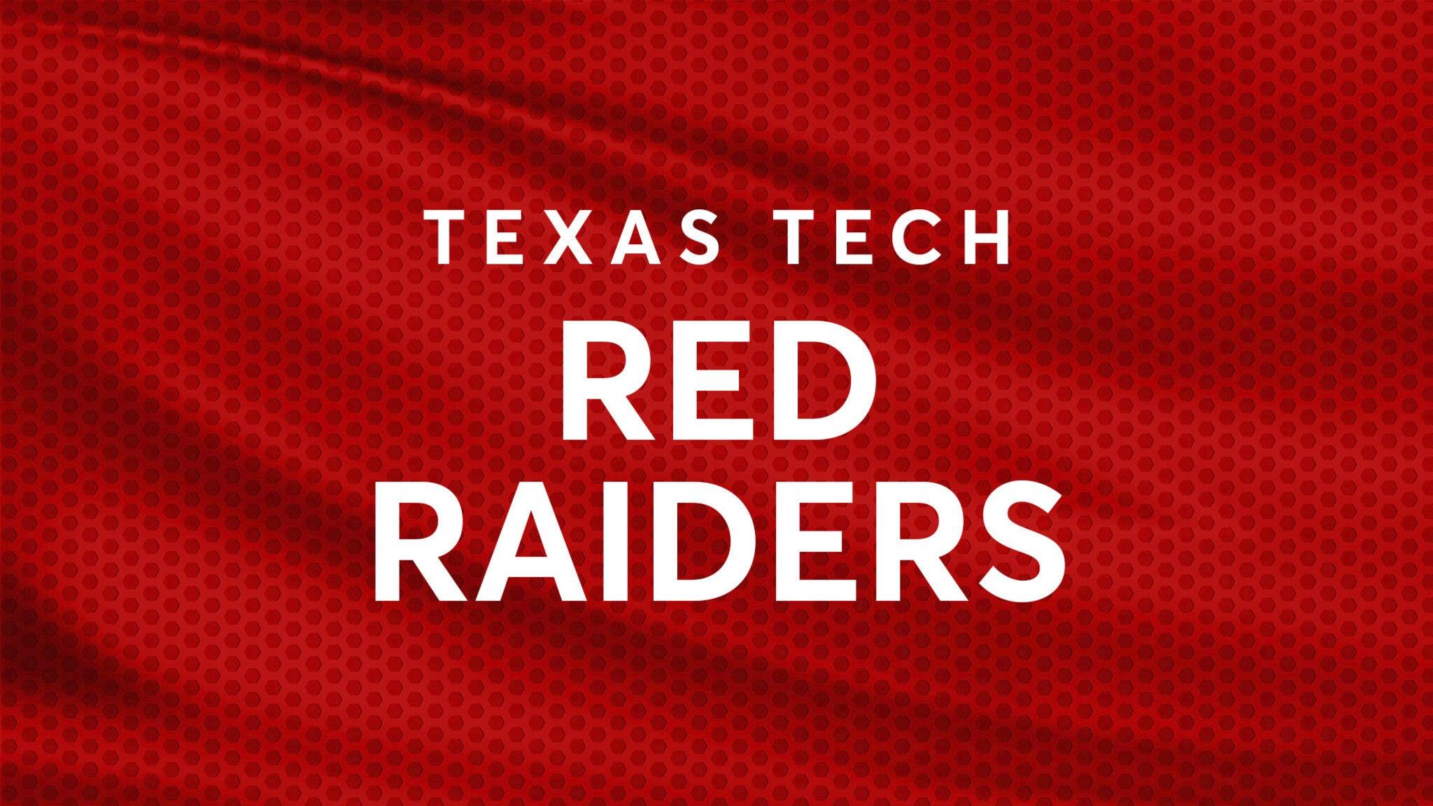 Texas Tech Red Raiders Mens Basketball