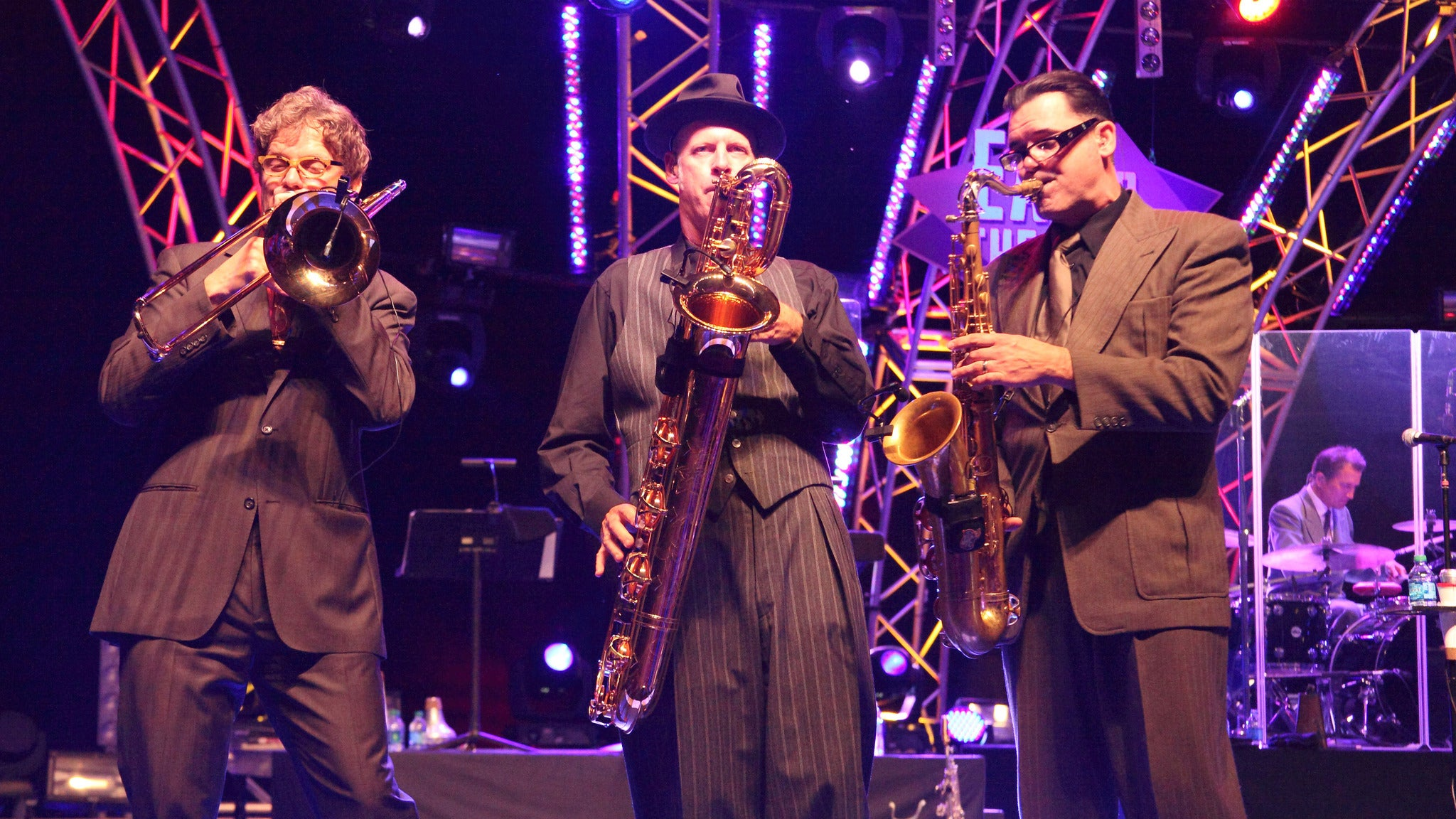 Big Bad Voodoo Daddy at Lyric Theatre-FL