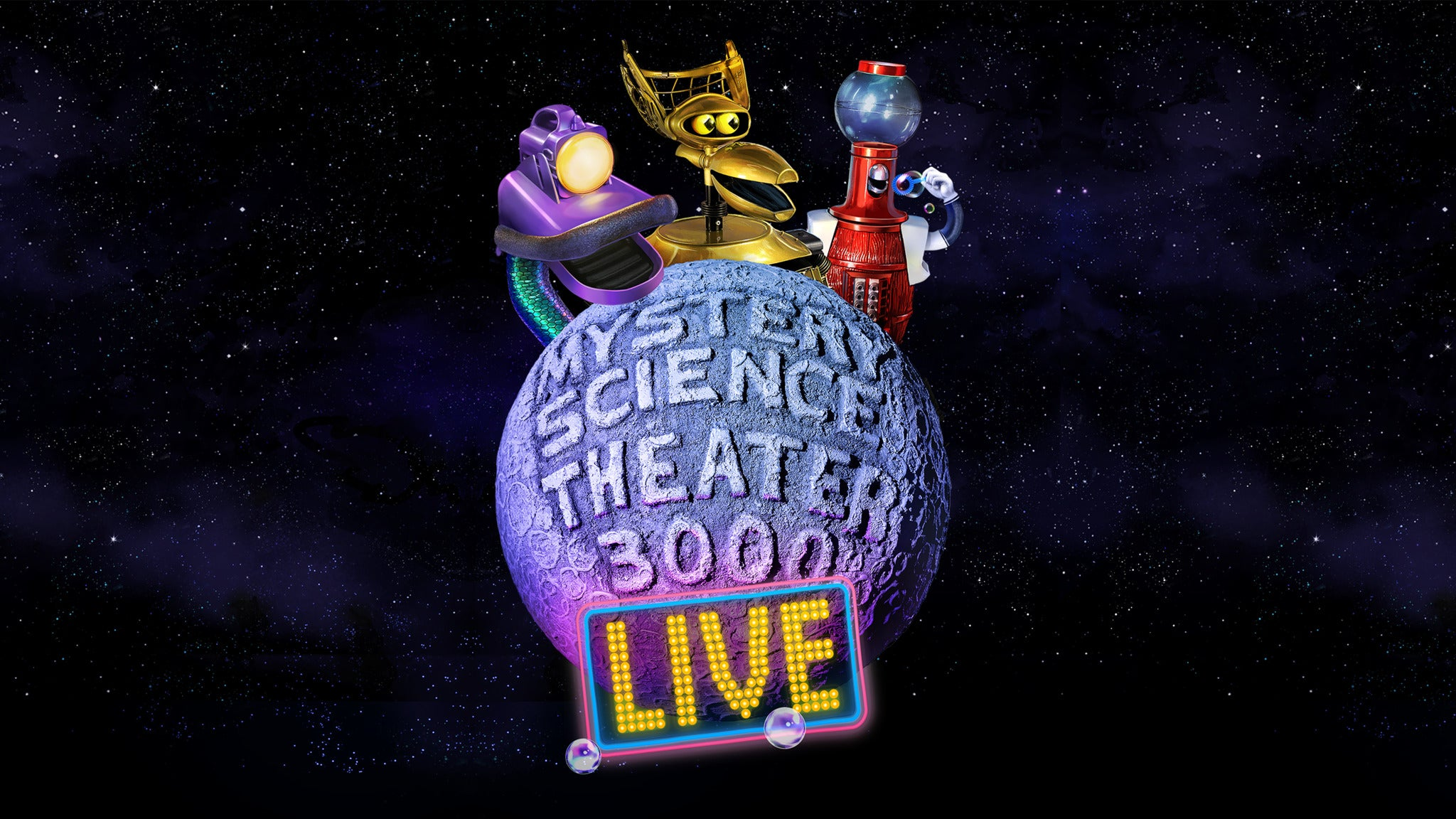 Mystery Science Theater 3000 Live! Time Bubble Tour