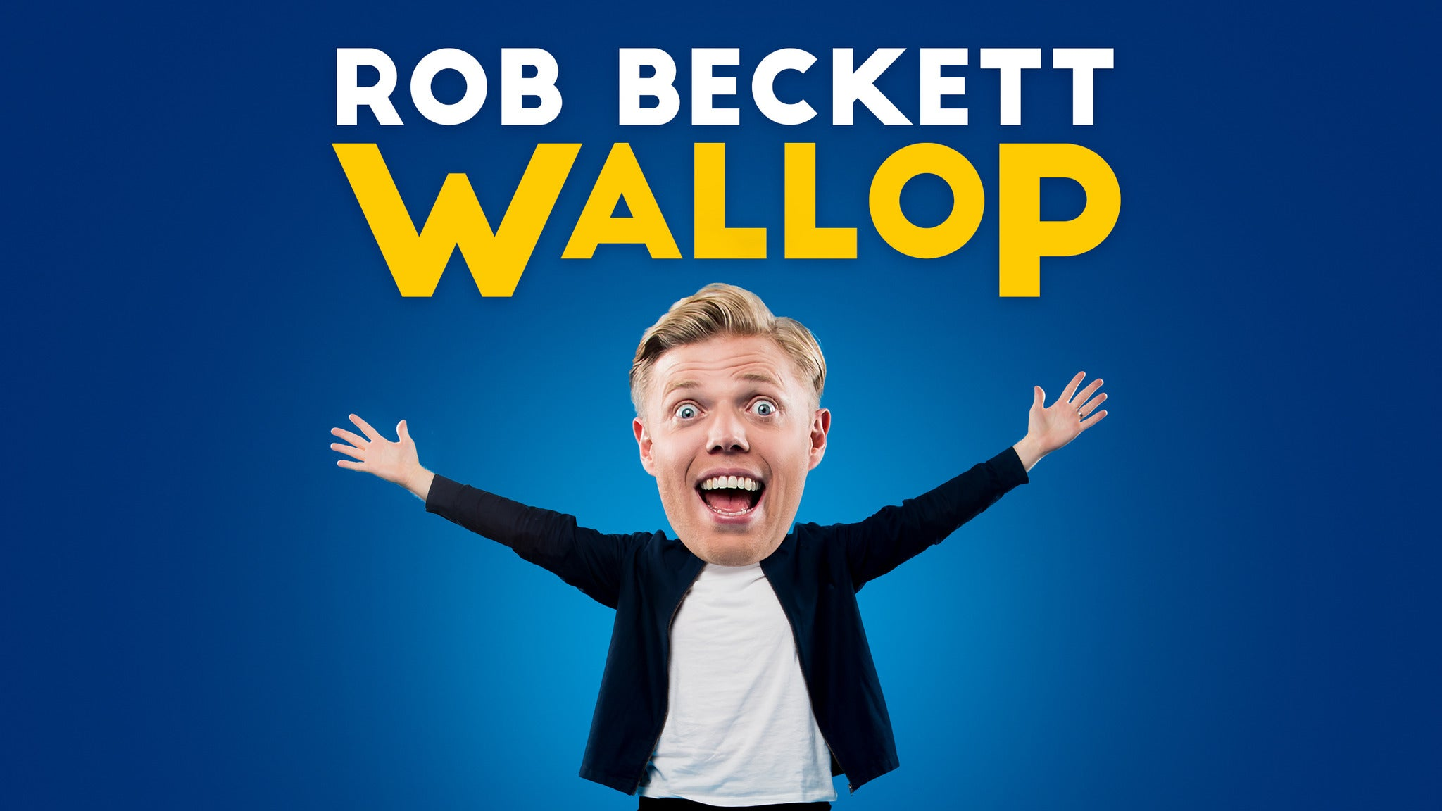 Rob Beckett - Wallop tickets (Copyright © Ticketmaster)