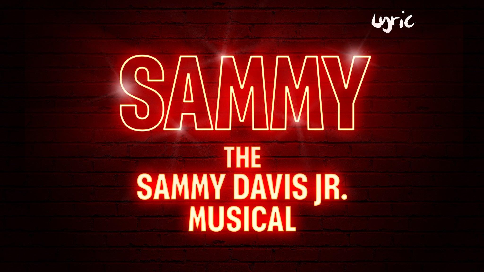 Sammy, The Sammy Davis Jr Musical